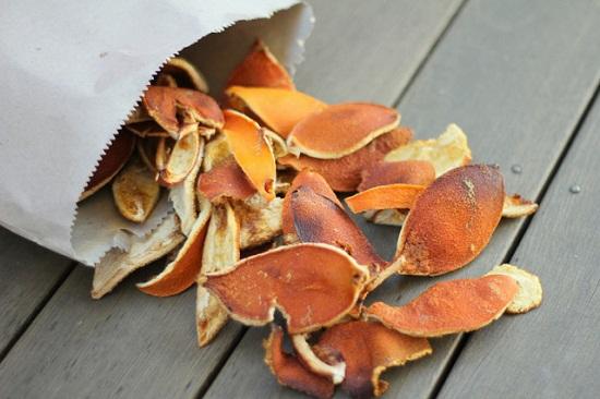 Vỏ cam, chanh bưởi có mui hương dễ chịu