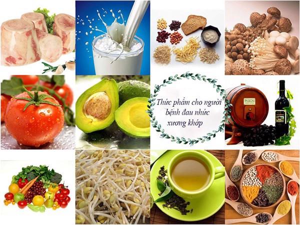 Những thực phẩm tốt cho người bị đau khớp gối