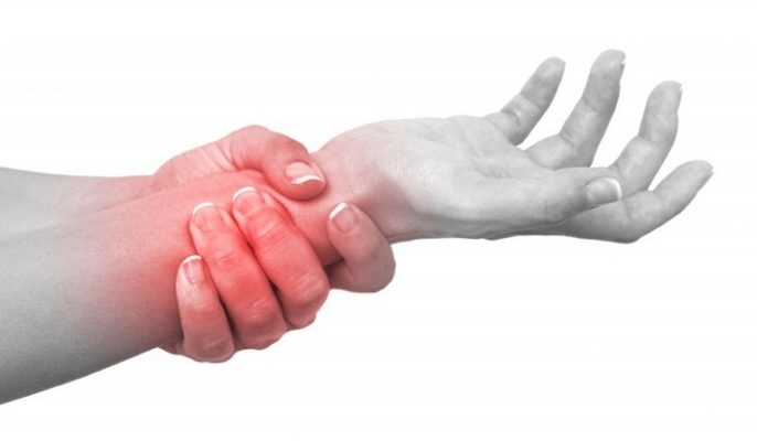 Có nhiều dấu hiệu nhận biết viêm bao gân cổ tay